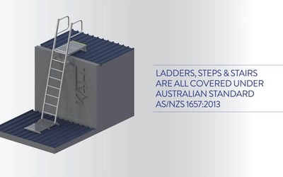 When to select ladders steps and stairs
