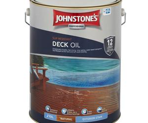 Slip resisant deck oil natural exterior stain 10l