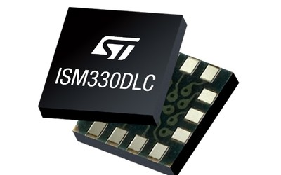 STMicroelectronics ISM330DLC 6-axis inertial measurement unit