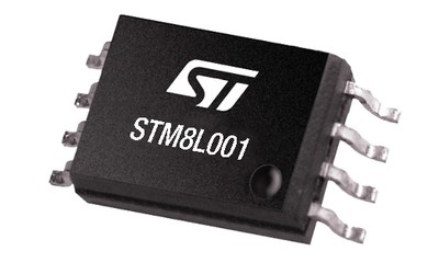 STMicroelectronics STM8L001 microcontroller
