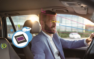 STMicroelectronics VG5661 and VG5761 image sensors for driver monitoring