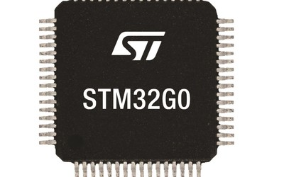 STMicroelectronics STM32G0 microcontrollers