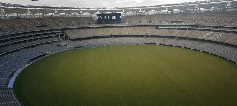 Stadium made safer with anti-slip flooring