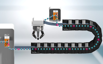 igus CF.D bus cable monitoring system