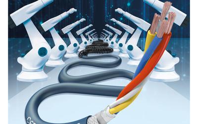 igus CFROBOT8.PLUS ethernet cable