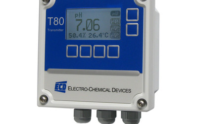 Electro-Chemical Devices Model T80 pH transmitter