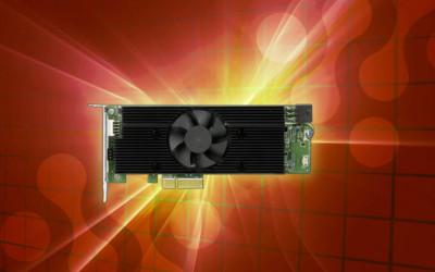 iEi Integration Mustang-V100-MX8 PCIe Slot VPU card