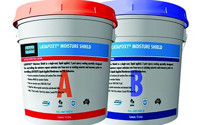 LATICRETE LATAPOXY Moisture Shield system