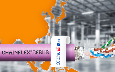igus chainflex CFBUS.045 and CFBUS.049 Ethernet cables