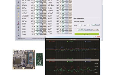 STMicroelectronics Unico GUI for inertial measurement units