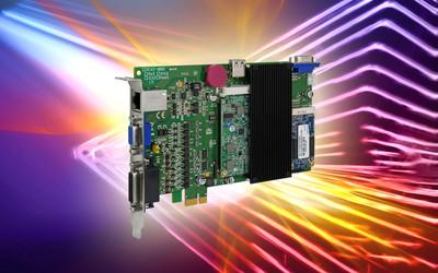 ICP DAS ECAT-M801 series of EtherCAT master PCIe cards