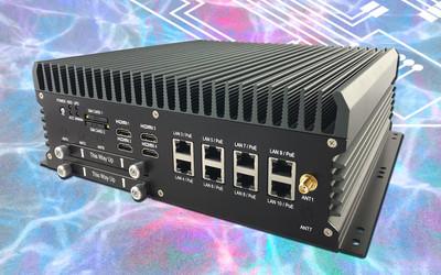 Sintrones ABOX-5200G4 and ABOX-5200G1 AI box PCs