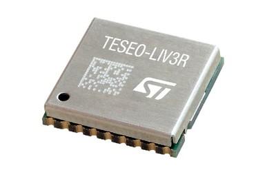 STMicroelectronics Teseo-LIV3R ROM-based GNSS module