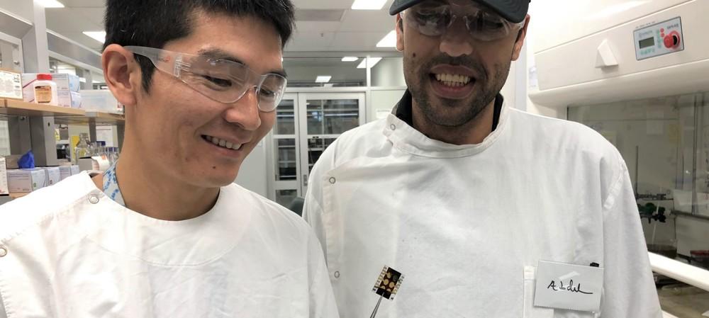 Producing efficient next-gen solar cells