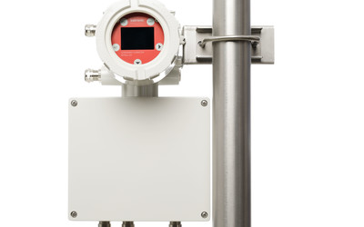 Katronic KATflow 180 clamp-on flowmeter for gases