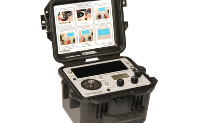 TMS 9110D portable vibration calibrator