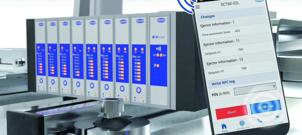 Schmalz adapting digital factories to vacuum technology