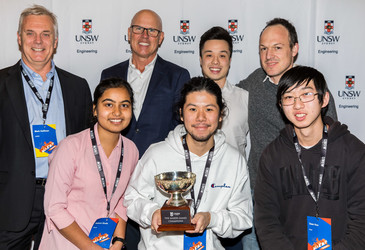 UNSW Maker Games winners design software to save lives