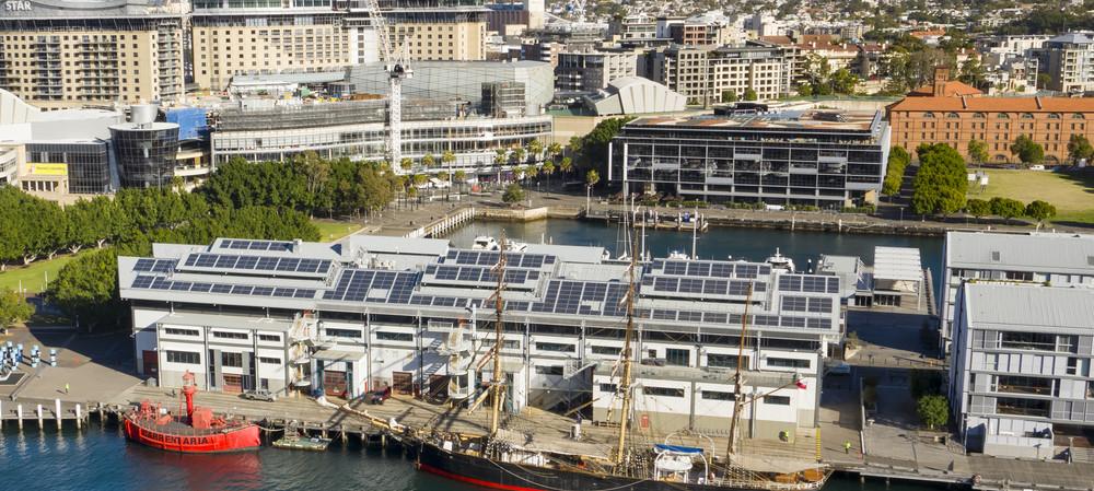 Maritime Museum installs novel lightweight solar solution