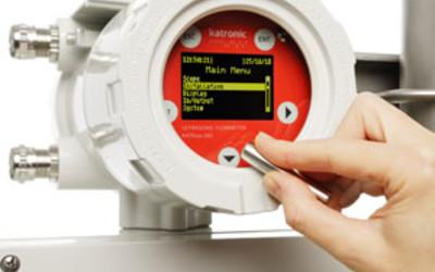 Katronic KATflow 180 Gas Clamp-On Ultrasonic Transmitter