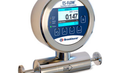 Bronkhorst flow meters and controllers for liquids