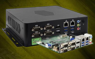 iBase CMI300-988 slim Mini-ITX system