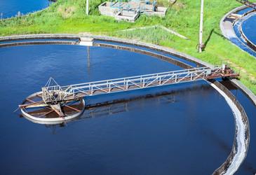Sewage treatment plant trials new method to measure sludge