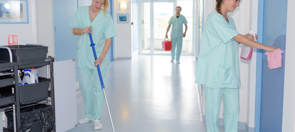 Investing in hospital cleaning for infection prevention