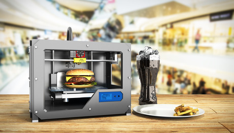 How will 3D printing impact the food industry?