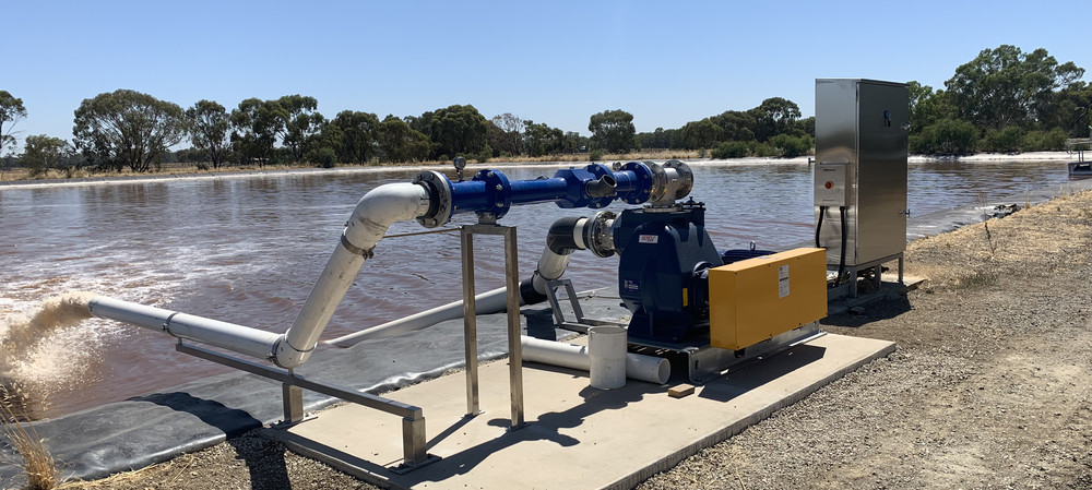 Bega Cheese upgrades wastewater system with new aerator
