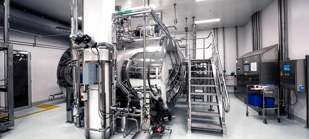 Process controls save time and space in pharma plant