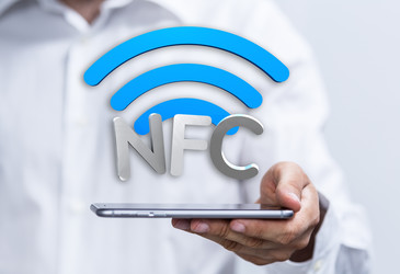 NFC-based self-testing of embedded systems
