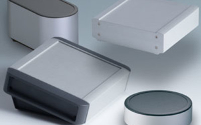 OKW SYNERGY and SMART-TERMINAL aluminium profile enclosures