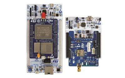 STMicroelectronics P-NUCLEO-LRWAN2 and P-NUCLEO-LRWAN3 LoRa development packs