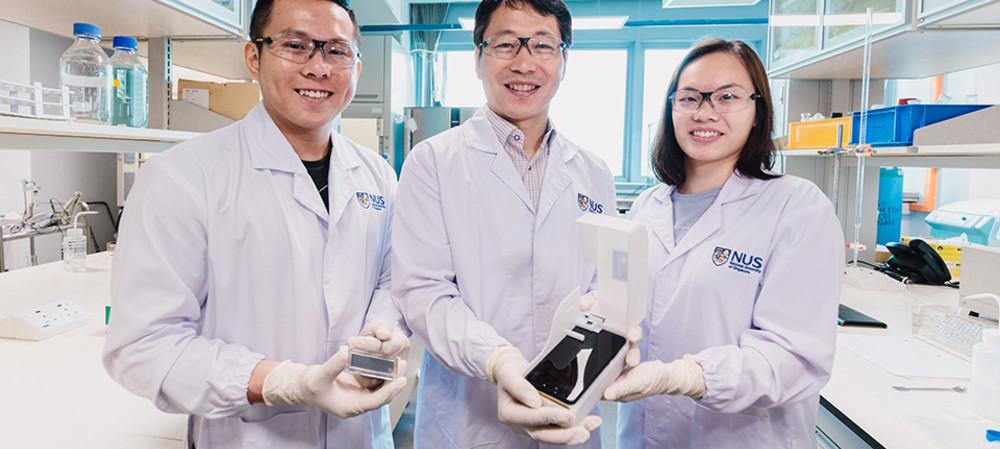 Smartphone device detects harmful algae in 15 min