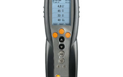 Testo 340 portable flue gas analyser