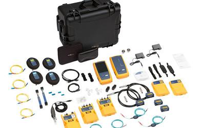 Fluke DSX-8000QOi copper and fibre testing kit