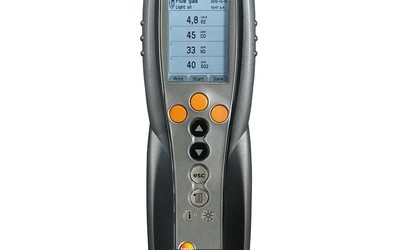 Testo 340 portable flue gas analyser