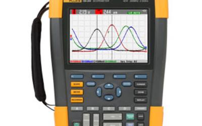 Fluke 200 MHz 4 CH ScopeMeter portable oscilloscope