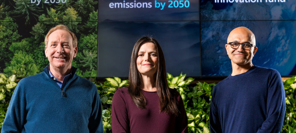 Microsoft aims to be carbon negative by 2030
