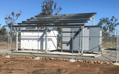 MFB 4-Bay Outdoor Shelters
