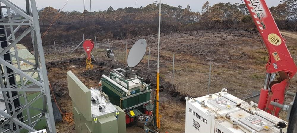 Fighting fire with comms firepower