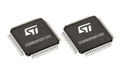 STMicroelectronics STSPIN32F0 250 and 600 V BLDC drivers