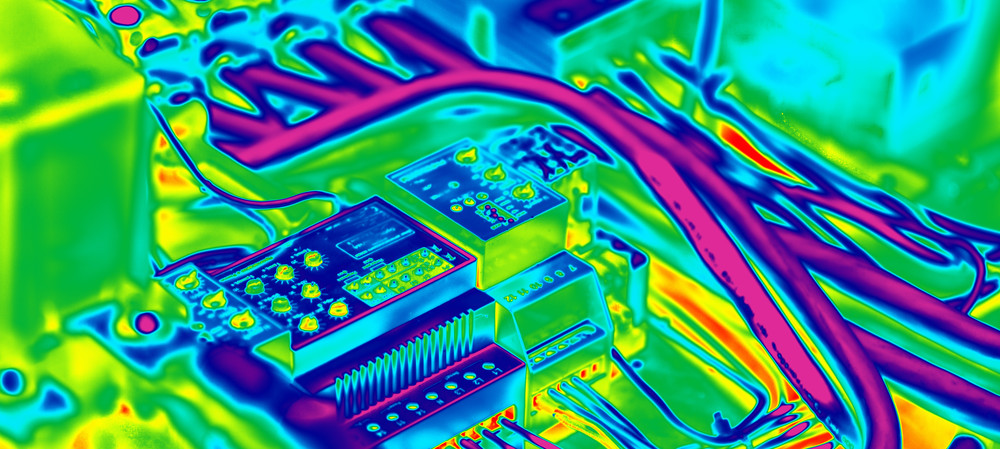 Powering electronics with waste heat