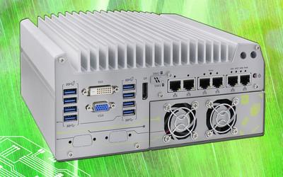 Neousys Nuvo-7160GC Series GPU computing edge AI platform