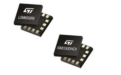 STMicroelectronics ISM330DHCX and LSM6DSRX iNEMO inertial measurement units