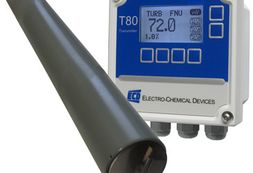 Triton TR80 Turbidity Sensor with automated cleaning wiper