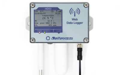Delta Ohm HD50 series data loggers