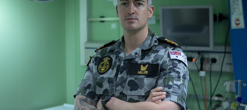 A Day in the Life of Royal Australian Navy officer, Lieutenant Commander Thomas Miller, a Nurse Educator
