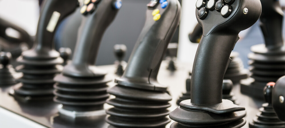 Selecting the right industrial joystick for your application